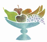 "P. BUCKLEY MOSS GICLEE "" THE FRUIT BOWL """