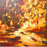 "CHEYENNE TRUNNELL  "" AUTUMN REFLECTIONS """