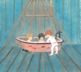 "P. BUCKLEY MOSS GICLEE "" BABIES IN THE BATHWATER """