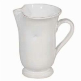 VIETRI BIANCO LARGE FOOTED PITCHER