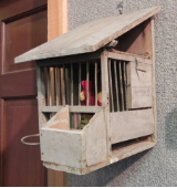 ANTIQUE BIRD BOX