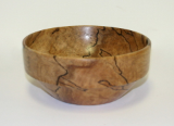 BOB SCHRADER SPALTED MAPLE BOWL # 876