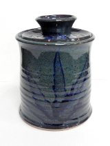 PAUL GASKINS CANISTER WITH LID
