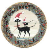 "P. BUCKLEY MOSS ORNAMENT "" CAT IN THE HAT II """