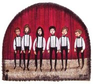 "P. BUCKLEY MOSS PRINT "" THE CHILDREN'S CHORUS """