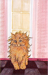 "P. BUCKLEY MOSS PRINT "" GINGER """