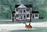 "P. BUCKLEY MOSS PRINT "" THE GOVERNOR'S ESTATE """