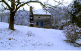 "KENNETH MURRAY PHOTOGRAPHY "" KILGORE FORT HOUSE - COPPER CREEK "" 9.5"" X 13"""