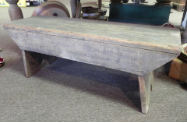ANTIQUE LOW BENCH