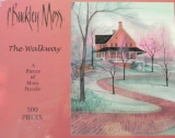 "P. BUCKLEY MOSS JIGSAW PUZZLE "" THE WALKWAY """