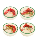 VIETRI OLD ST. NICK CONDIMENT BOWL - ASSORTED