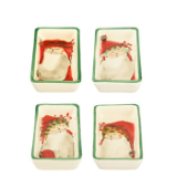 VIETRI OLD ST. NICK SMALL RECTANGULAR DISH - ASSORTED