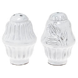"VIETRI "" INCANTO STRIPE SALT & PEPPER """