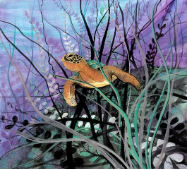 "P. BUCKLEY MOSS GICLEE "" UNDER THE SEA """