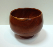"BOB SCHRADER "" CHERRY DEEP & WIDE BOWL """