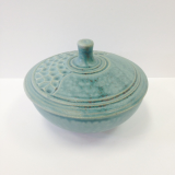 "CORNELL ART POTTERY "" SMALL BOWL WITH LID """