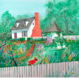 "P. BUCKLEY MOSS "" COLONIAL GARDEN """
