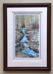 """ FALL REFLECTIONS "" FRAMED"