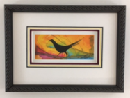 "P. BUCKLEY MOSS ""ICARUS "" FRAMED"