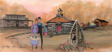 "P. BUCKLEY MOSS GICLEE "" HERITAGE FARM MUSEUM """