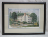 "LORRAINE BREWER FRAMED PRINT "" THE NETHERLAND INN """
