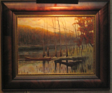 "JOHN LLOYD JONES ORIGINAL OIL PAINTING ""RESTING PLACE"""