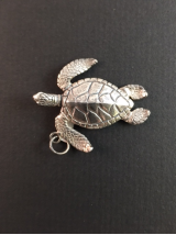 "PURE SANCTUARY "" TURTLE "" CHARM"