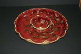 RAY POTTERY RED CHIP AND DIP