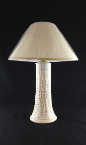 """ POTTERY LAMP BY JIM CORNELL """