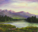 "JEFF PITTMAN "" MOUNTAIN LAKE "" LIMITED EDITION PRINT"
