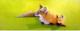 "BOB RANSLEY "" FOX KIT ON LIME """