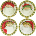 VIETRI OLD ST. NICK ROUND DINNER PLATE - ASSORTED