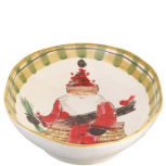 VIETRI OLD ST. NICK OVAL SERVING BOWL