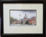 "LORRAINE BREWER FRAMED PRINT "" OLD DOBYNS BENNETT "" (SMALL)"