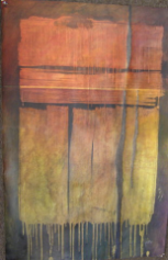 "HEIDI MAYFIELD "" DOOR IN RAIN "" ORIGINAL ACRYLIC"