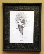 "P. BUCKLEY MOSS "" GENTLE TOUCH "" FRAMED"