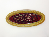 "RAY POTTERY "" FISH PLATTER """