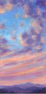 "JEFF PITTMAN "" CLOUD COLOR "" ORIGINAL OIL ON CANVAS"