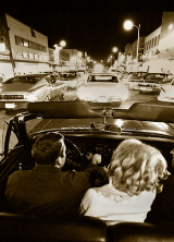 "KENNETH MURRAY PHOTOGRAPHY "" CRUISING BROAD STREET - KINGSPORT, TN "" 13"" x 19"""
