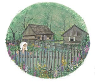 "P. BUCKLEY MOSS PRINT "" IN MY GARDEN """