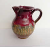 RAY POTTERY RED PITCHER