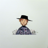 "P. BUCKLEY MOSS PRINT  "" RAY """