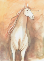 "P. BUCKLEY MOSS GICLEE "" WILL O' THE WISP "" (SMALL)"