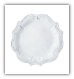 "VIETRI "" INCANTO BAROQUE DINNER PLATE """
