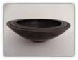 BOB SCHRADER BLACK WOOD BOWL