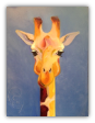 "BOB RANSLEY "" GIRAFFE ON BLUE """
