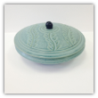 "CORNELL ART POTTERY "" SHALLOW BOWL WITH LID """