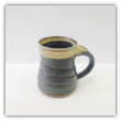"CORNELL ART POTTERY "" MUTED GREEN MUG """