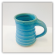 "CORNELL ART POTTERY "" SKY BLUE MUG """