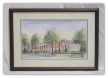 "LORRAINE BREWER FRAMED PRINT "" THE KINGSPORT INN """